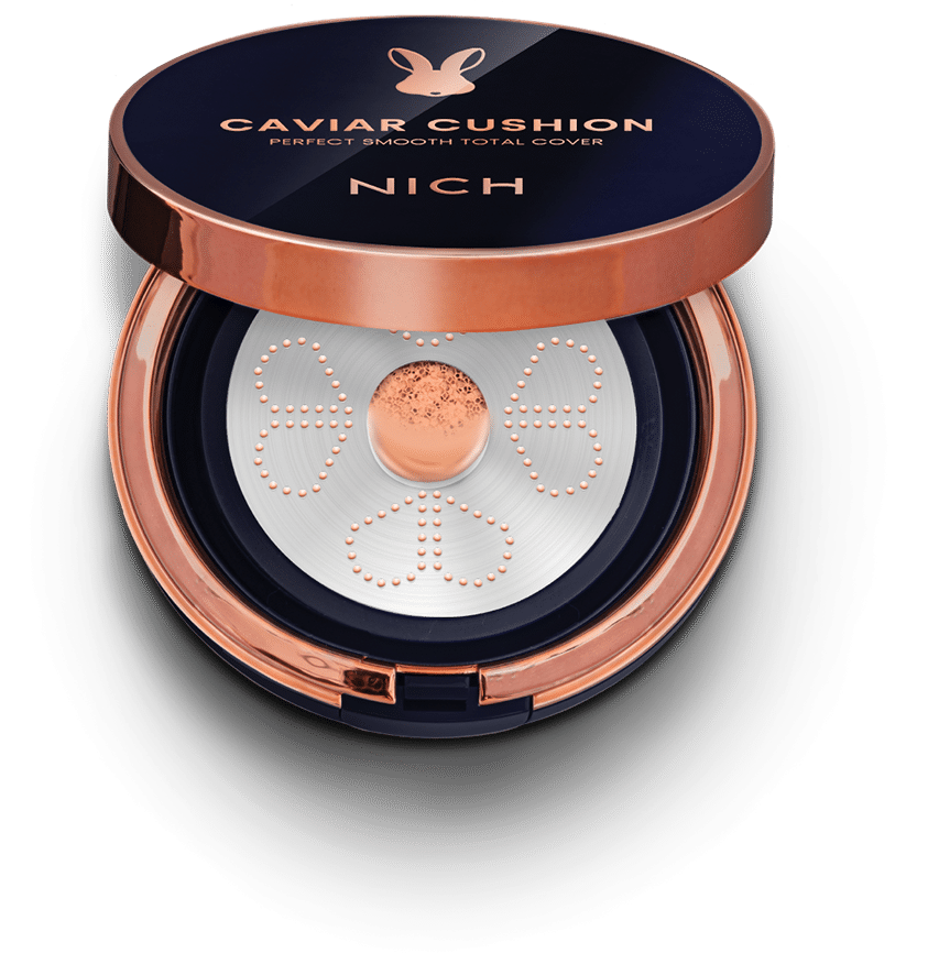 NICH Caviar Cushion Transparent