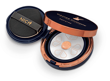 NICH Caviar Cushion Perfect Smooth Total Cover Transparent